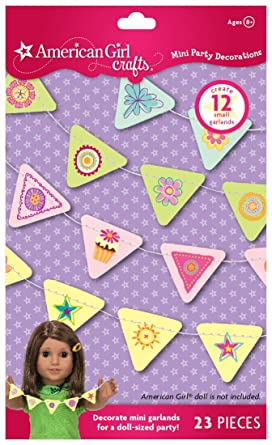 Amazon Com American Girl Crafts Mini Party Decorations Toys Games