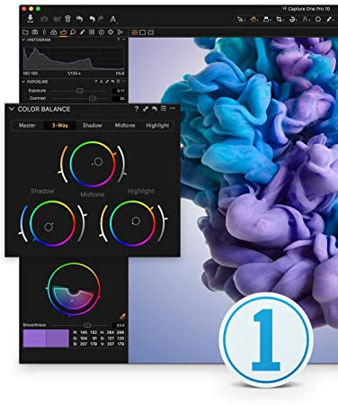 Capture One Pro 10 Photo Editing Software | Single User, 3 Seats | Mac [Download]