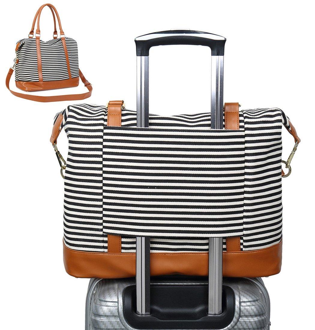 CAMTOP Women Ladies Travel Bag Canvas Weekend
