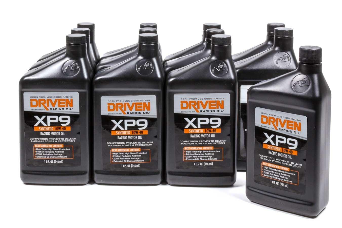 Driven Racing Oil xp9 10 W40 1モーターオイルQT 12ケースP / N 03207 B01MA3OTLB