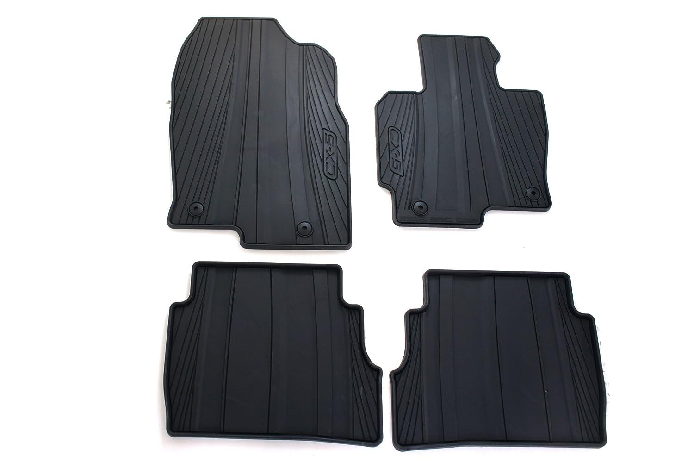 Mazda Genuine Accessories 0000-8B-R12 All-Weather Floor Mat