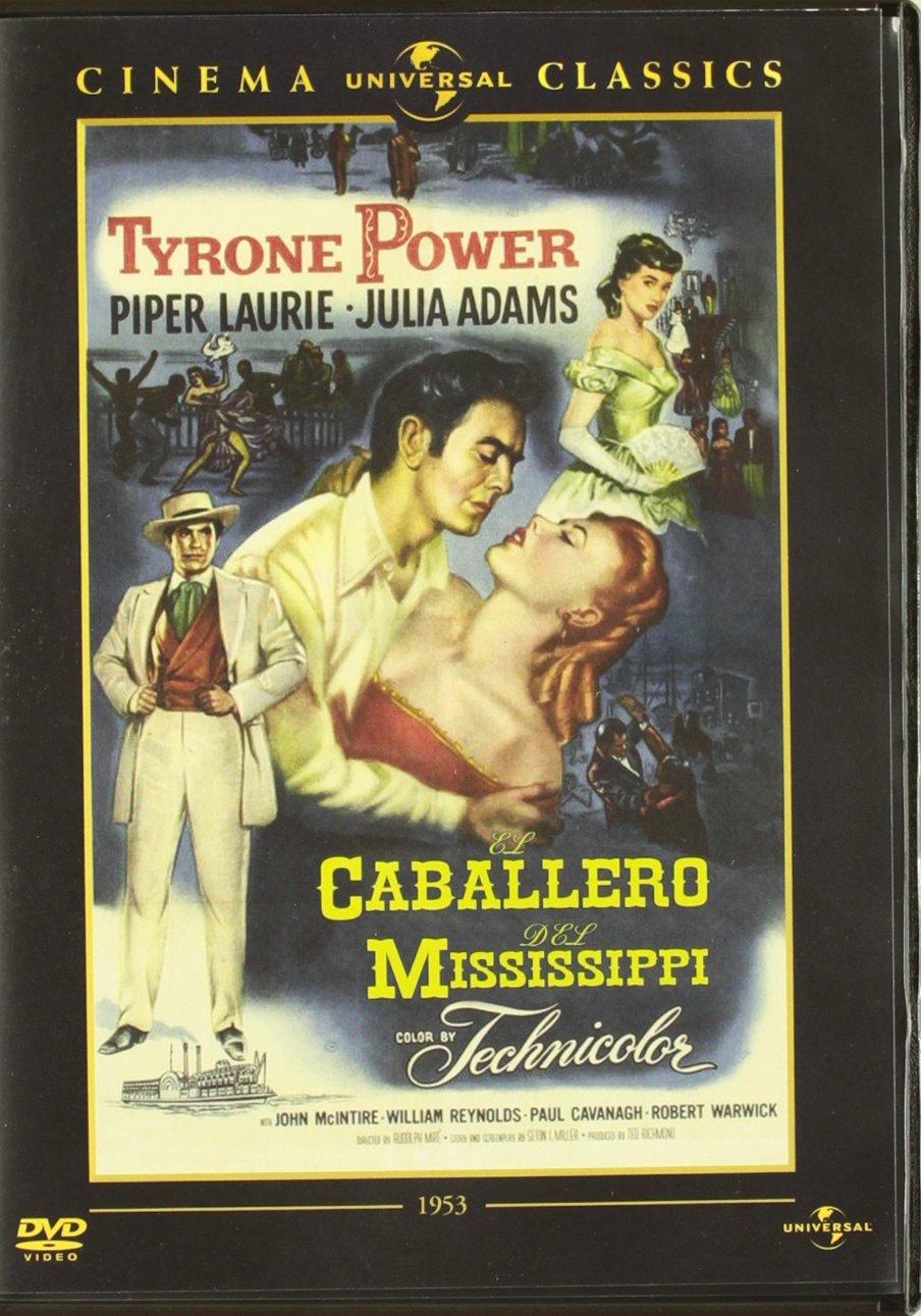 Caballero del mississippi [DVD]: Amazon.es: William Reynolds ...