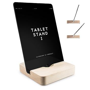 Soporte de Tableta para iPad Soporte de Pro Pro Soporte de Madera, Soporte para Tablet