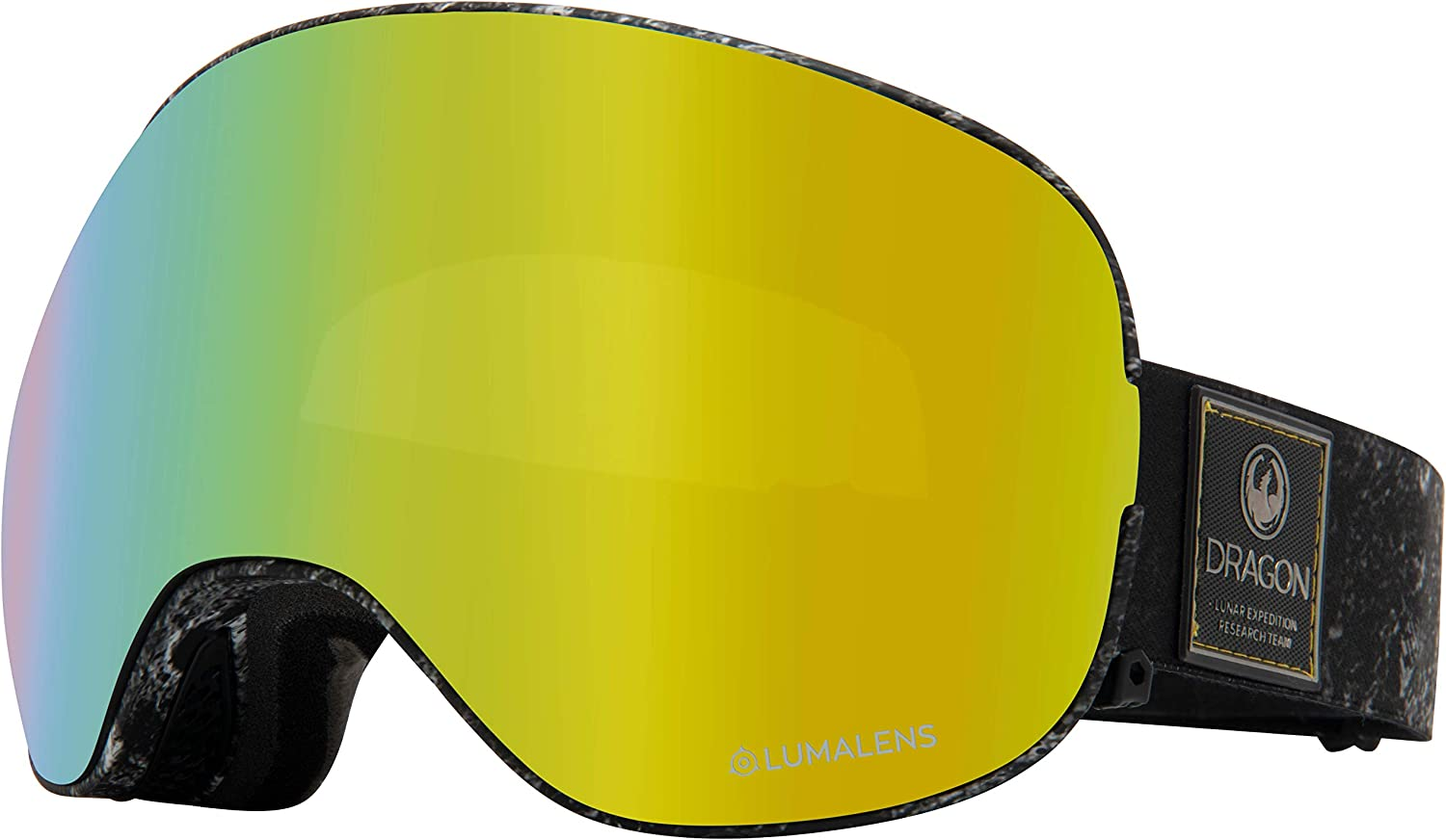 North Wolf Snow Goggles Classic Cycling Glasses Lens Anti Fog Black