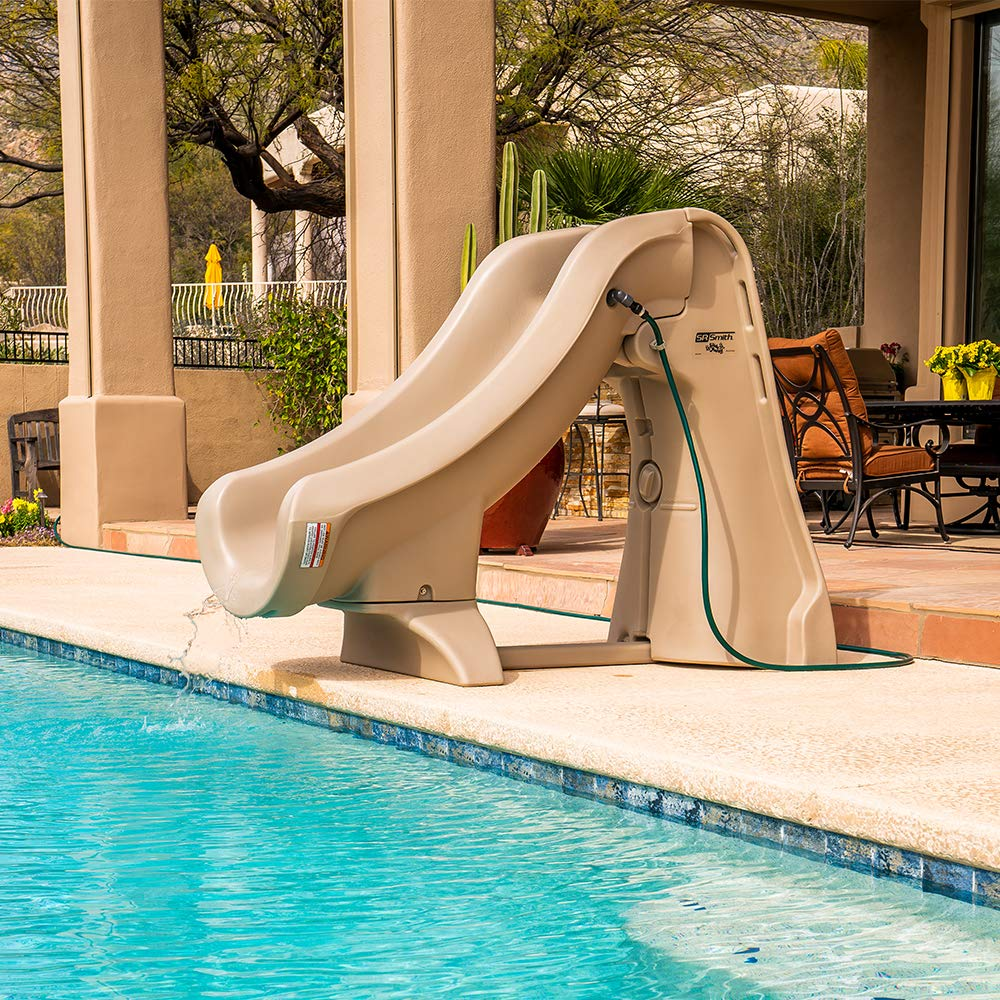 09cfe597c Amazon.com   S.R. Smith 660-209-5810 SlideAway Removable In-Ground Pool  Slide