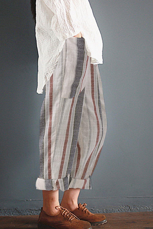 c583412bf77 Zilcremo Lensemble Pantalon Taille Haute