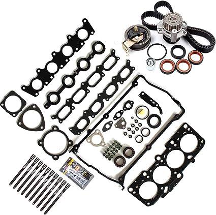 Timing Belt Kits Fit 2001-2005 Audi A4 2001-2005 Audi A4 Quattro 2003-2005 Volkswagen Passat INEEDUP Engine Components Timing Belt Kits