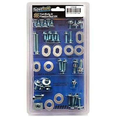Specbolt Fasteners Full Body & Plastics Bolt Kit: Yamaha YZ250F YZ450F 2014-2020 YZF250 YZF450#68: Automotive