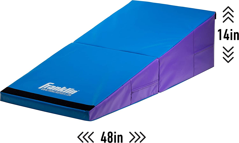 Franklin Sports Folding Gymnastics Cheese Mat : Sports & Outdoors