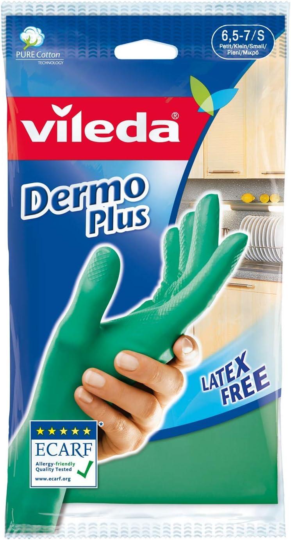 Vileda Dermoplus 01283-16-2-109 Gloves pack of 2 Size M