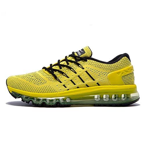 Onemix Zapatos para Correr en Montaña y Asfalto Aire Libre y Deportes Zapatillas de Running Padel para Hombre: Amazon.es: Zapatos y complementos