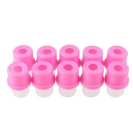 Nail Art Beauty7 puntas 10 capuchones Soaker Remover limpieza para disolver UV para quitar uñas para