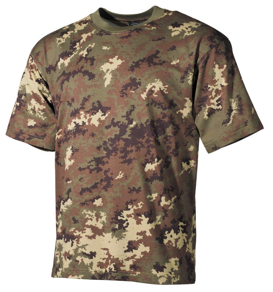 Combat T-Shirt Italian Army Pattern Camo Vegetato Camouflage SIZE XXL Max Fuchs AG 00103L