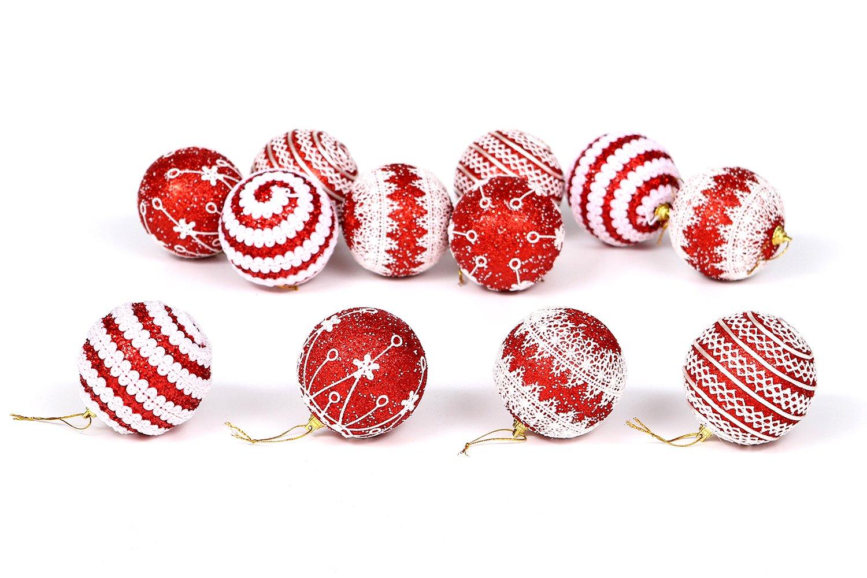 Adornos de bolas para árbol de Navidad inastillables de Sea Team, 75 ...