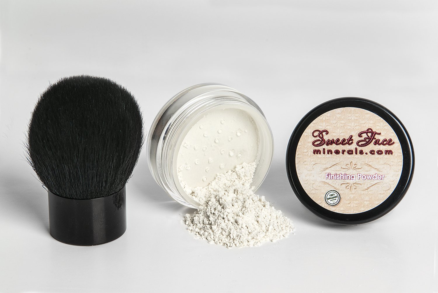 Best Finishing Powder With Kabuki Brush Makeup Setting Oil Control Nabi Duo Concealer Corrector Mineral Bare Skin