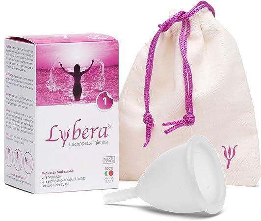 Copa menstrual Lybera® Cup transparente (pequeña)