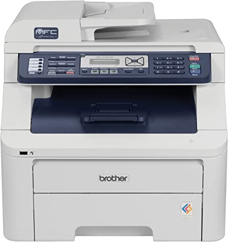 Brother MFC-9320CW Digital Color All-in-One Printer with Wireless Networking