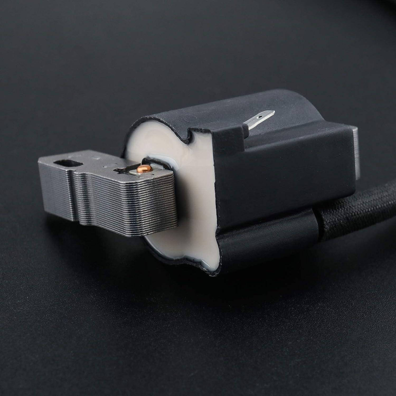 Bobina de encendido M/ódulo de estado s/ólido 490586 492341 491312 negro compatible con 303777 161436 161437 piezas de repuesto de cortac/ésped