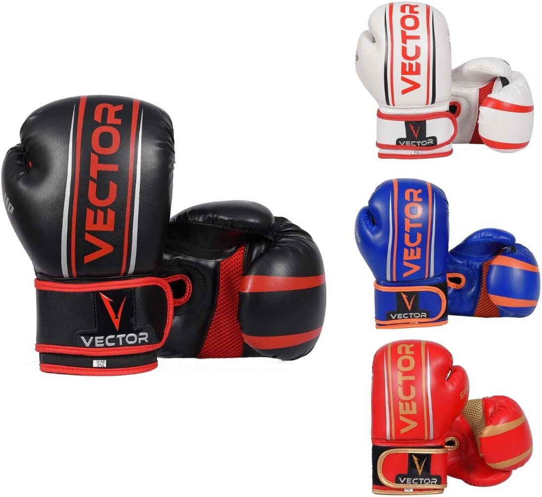 Junior Boxing Gloves Sparring Leather Punchbag Gloves Children//Kids 4,6,8 OZ