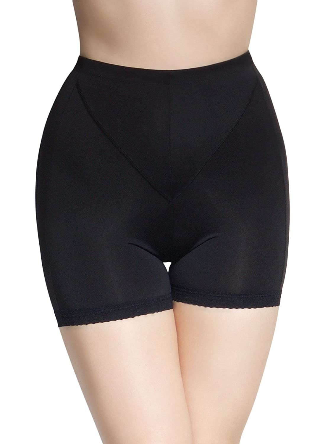 SodaCoda Improved Bum Bra Butt Lifter Panty with Tummy Control restores Pertness to Sagging Buttocks Black Nude (S-XL)
