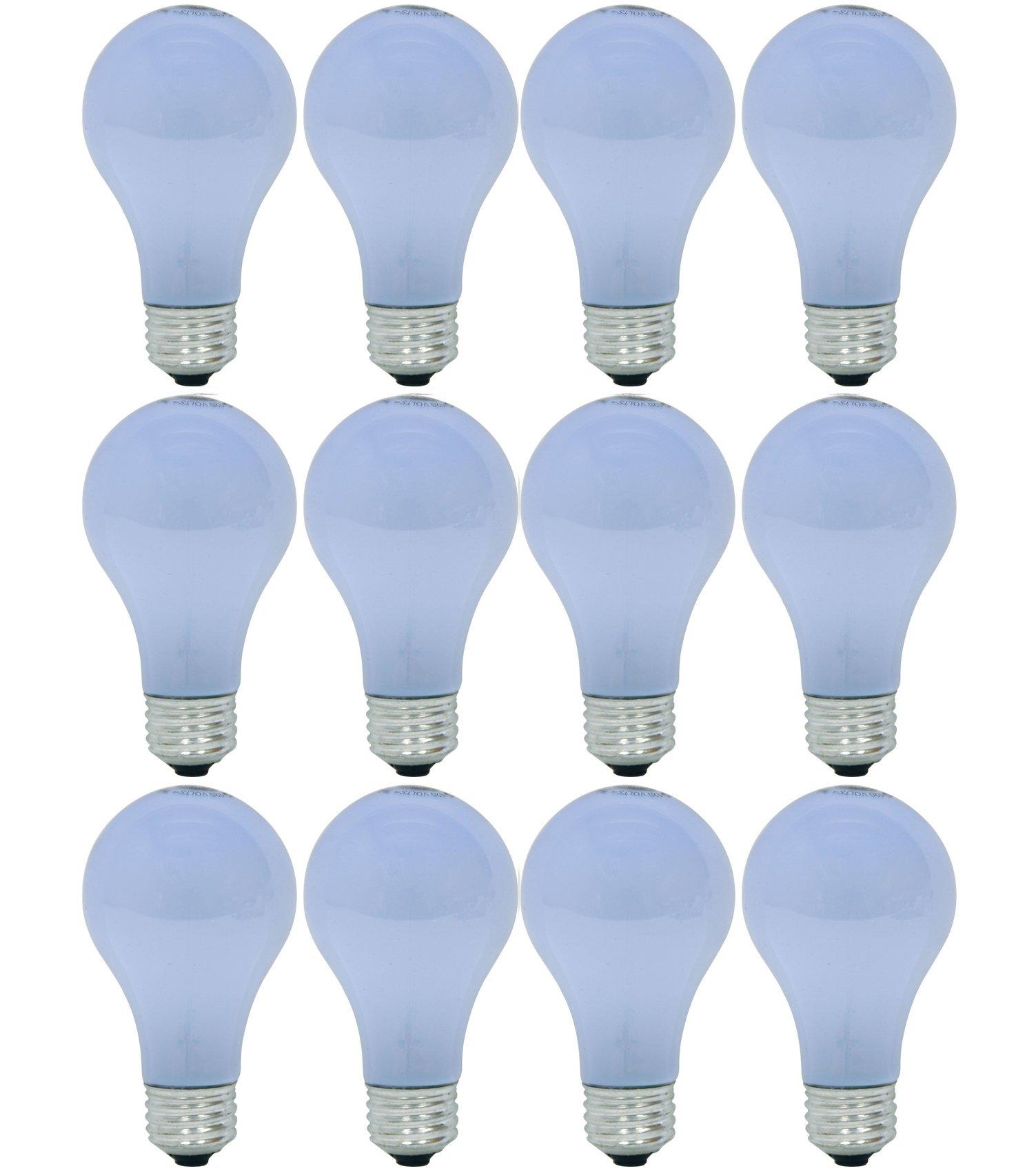 GE Lighting 63006 Reveal 29-Watt (40-watt replacement) 325-Lumen A19 Light Bulb with Medium Base, 12-Pack