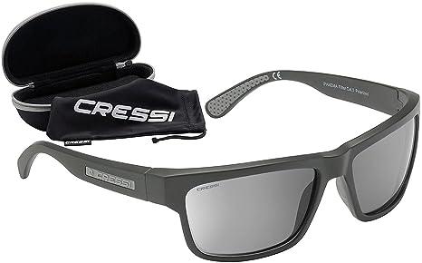 0a48518d7ccb Cressi Ipanema Polarised Sunglasses for Men  Amazon.co.uk  Sports ...