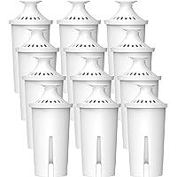 Waterdrop TÜV SÜD, NSF Gecertificeerde Filterpatroon, Compatibel met Brita Classic, PearlCo, Mavea 107007, AquaOptima…