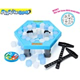 Sanzo Penguin Ice Breaking Popular Game - Paly with Your Family&Friend to Save the Penguin Now!(With lovely Gift!)