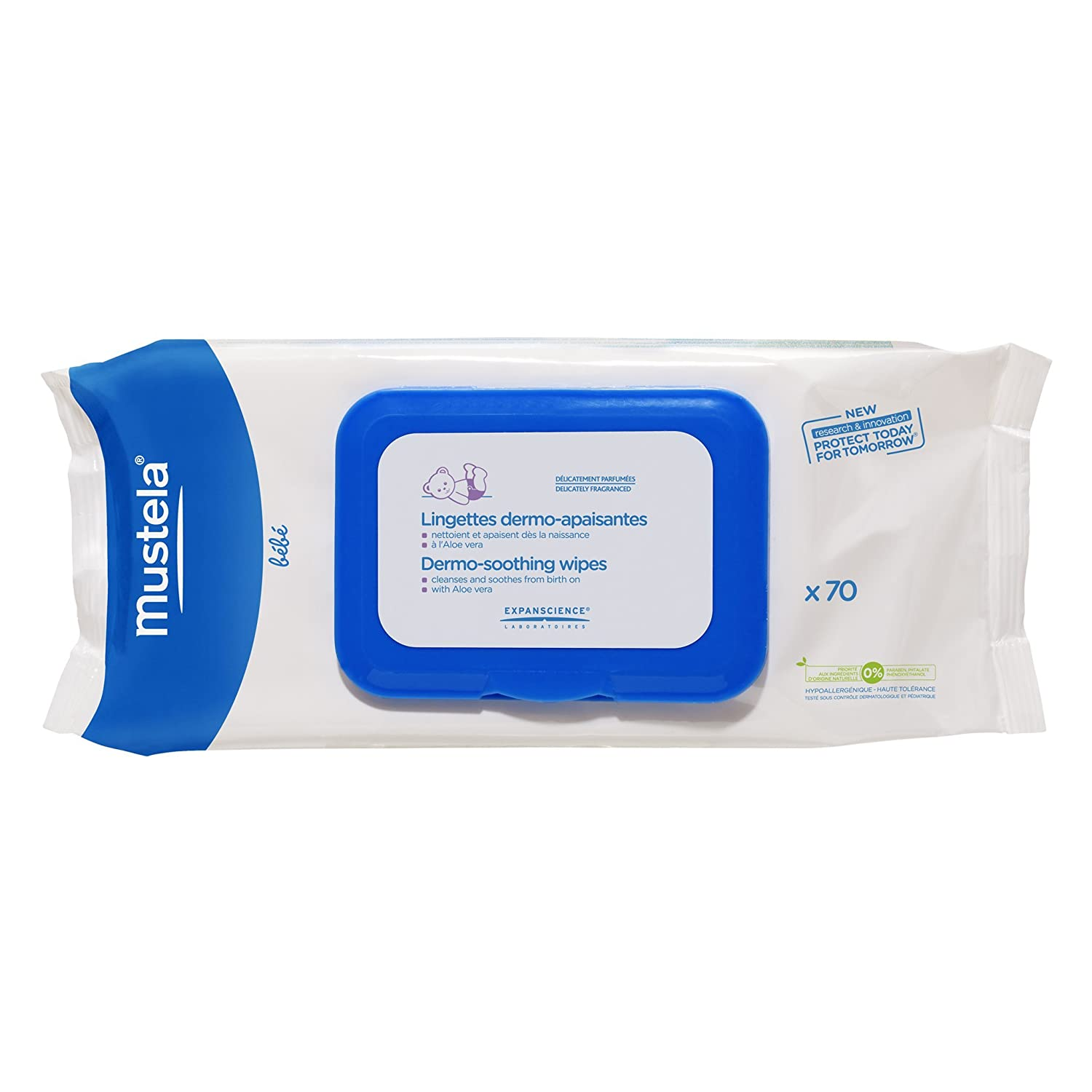 Mustela Baby Care Pflegetücher 70pz 1728