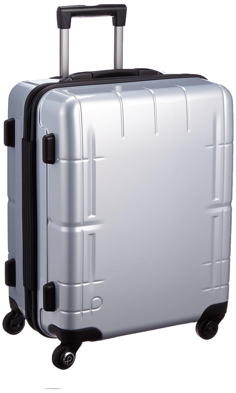 [プロテカ] 3年保証付 日本製スーツケース スタリアV 53L保証付 53L 51cm 3.6kg 02642 B01BTQW1BY シルバー シルバー
