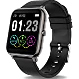 Zagzog Smartwatch vattentät IP68 Bluetooth Smartklocka Pulse Fitness Tracker Sportklocka med kamera Romte sovmonitor…