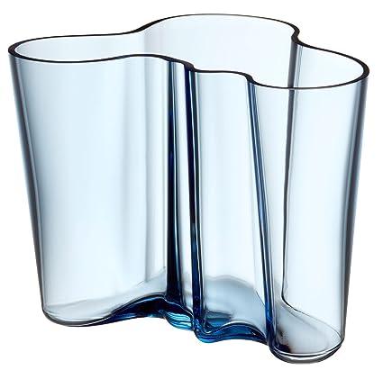 Amazon Iittala Aalto Vase Aqua Height 16 Cm By Alvar Aalto
