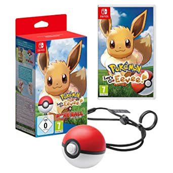 Pokemon Let S Go Evoli Pokeball Plus Nintendo Switch