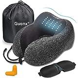Guenx Almohada de Viaje, Avión Almohada Cervical | Almohada Ortopédica Cervical | Cojin Travel Pillow Reposa Cabezas…