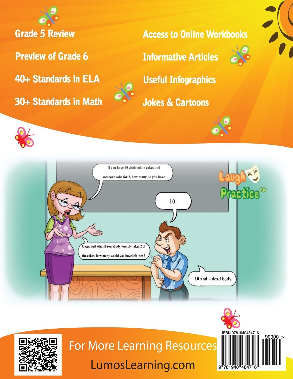 Amazon.com: Summer Learning HeadStart, Grade 5 to 6: Fun ...