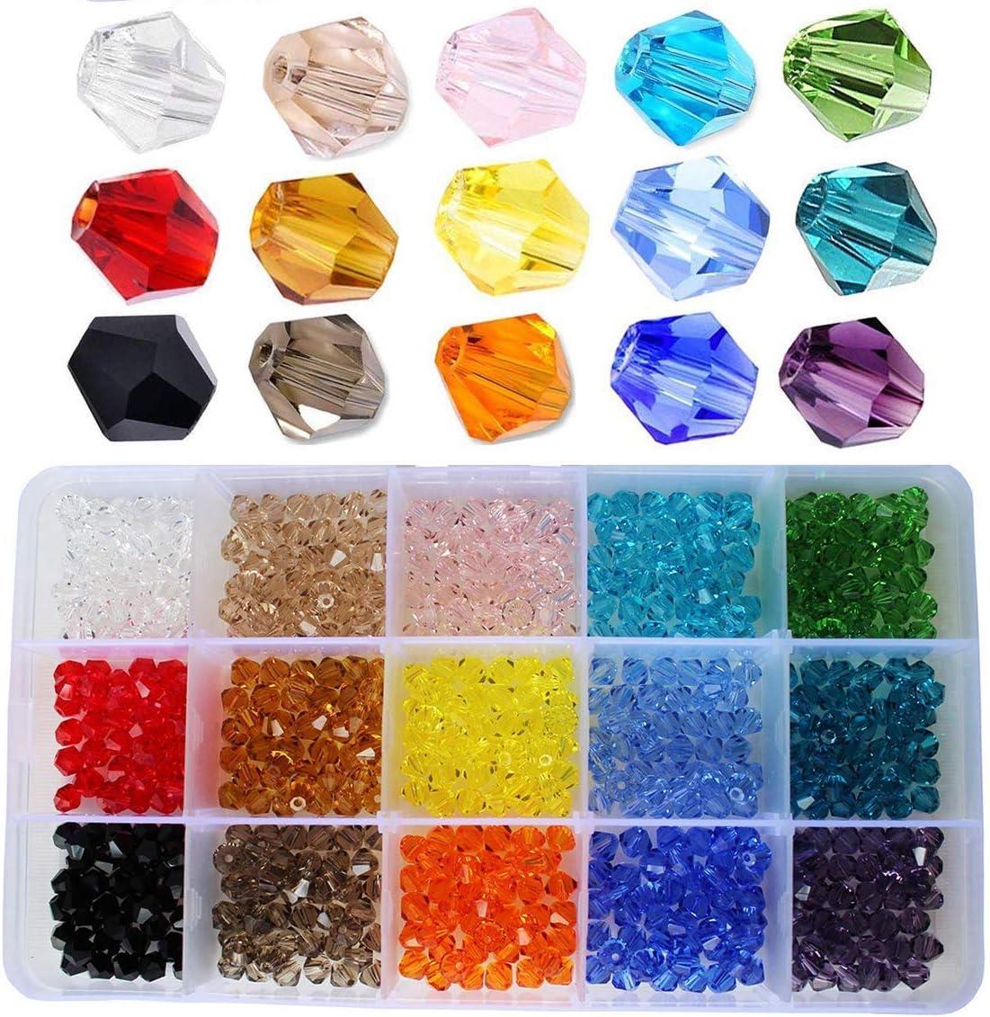 9mm x 6mm Topaz AB 15 Czech Glass Teardrop Beads
