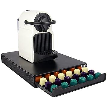 Maison & White Organizador de 60 cápsulas de Nespresso | Plataforma para máquina de café |