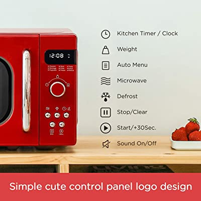 Kitchen & Dining Compact Microwave Ovens Ft,5 Power Levels,8 ...