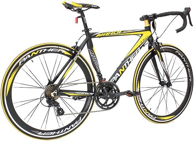 NOTRE Panther - Bicicleta de Carretera con Marco de Aluminio y ...