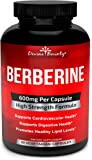 Pure Berberine Complex - 600mg Per Capsule Berberine HCl Supplement - 60 Vegetarian Capsules