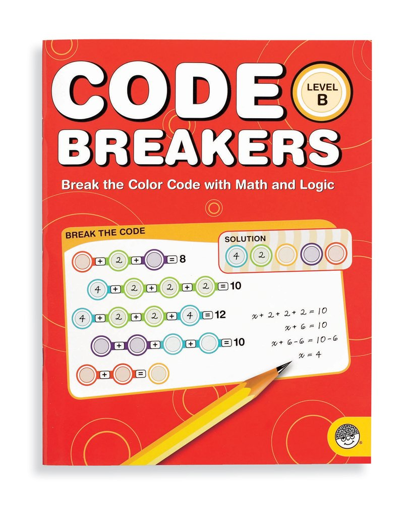 amazoncom mindware code breakers level b toys games - The Color Code Book