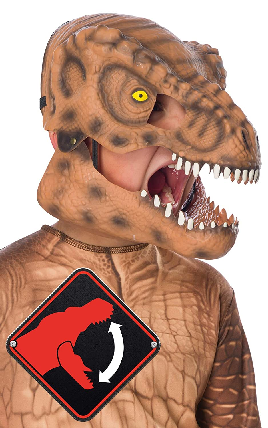 Rubies T Rex Movable Jaw Child Mask