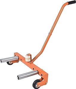 Aain DY016 Heavy-Duty Adjustable Tire Wheel Dolly For Workshop, Garage, Orange