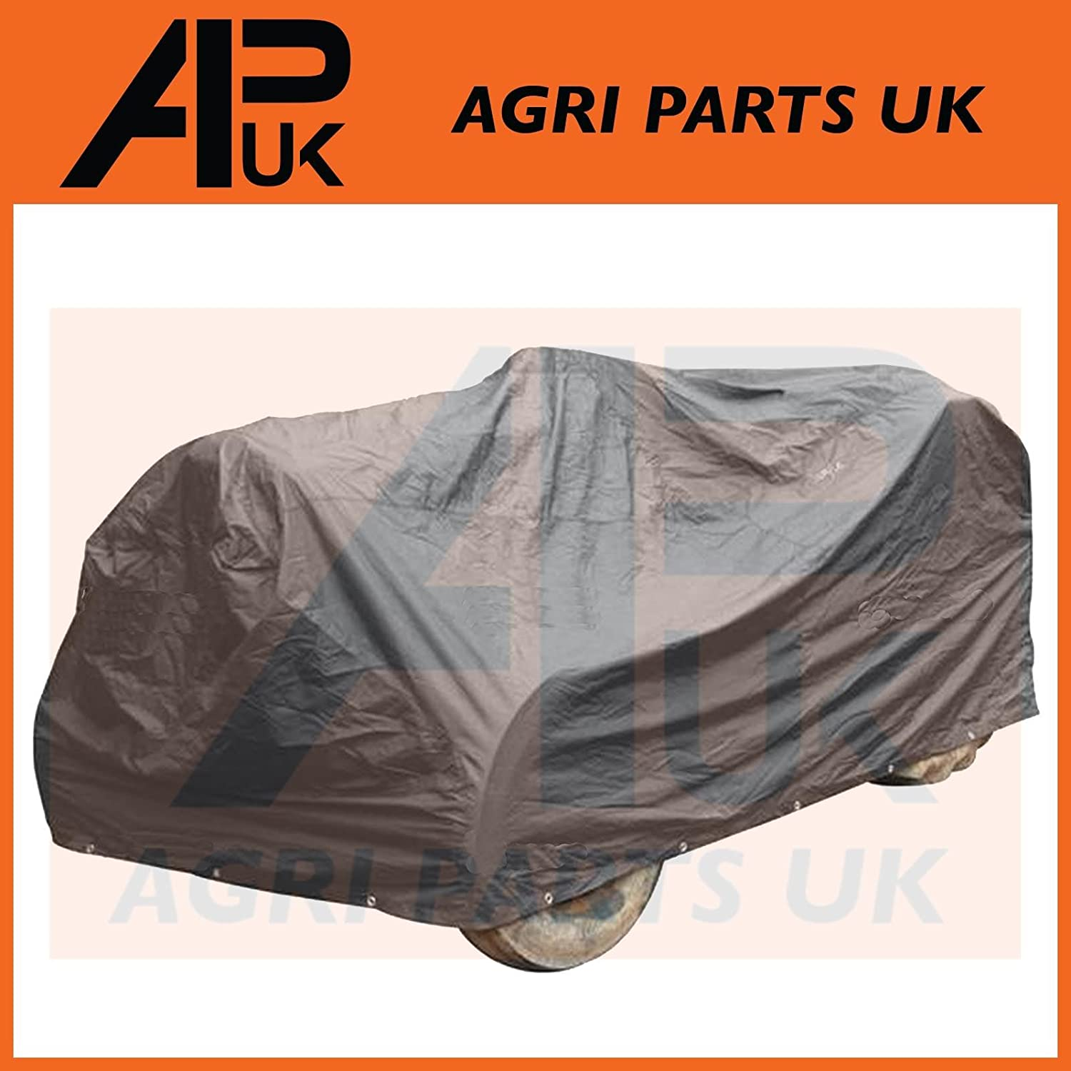 APUK Protective Storage Cover Sheet Tarp Compatible with Fordson Dexta Super Vintage Classic Tractor