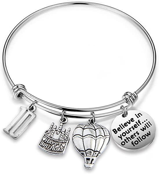 Amazon MAOFAED 10th Birthday Gift Bracelets For Kids Anniversary Inspiration Believe In Yourself B Jewelry