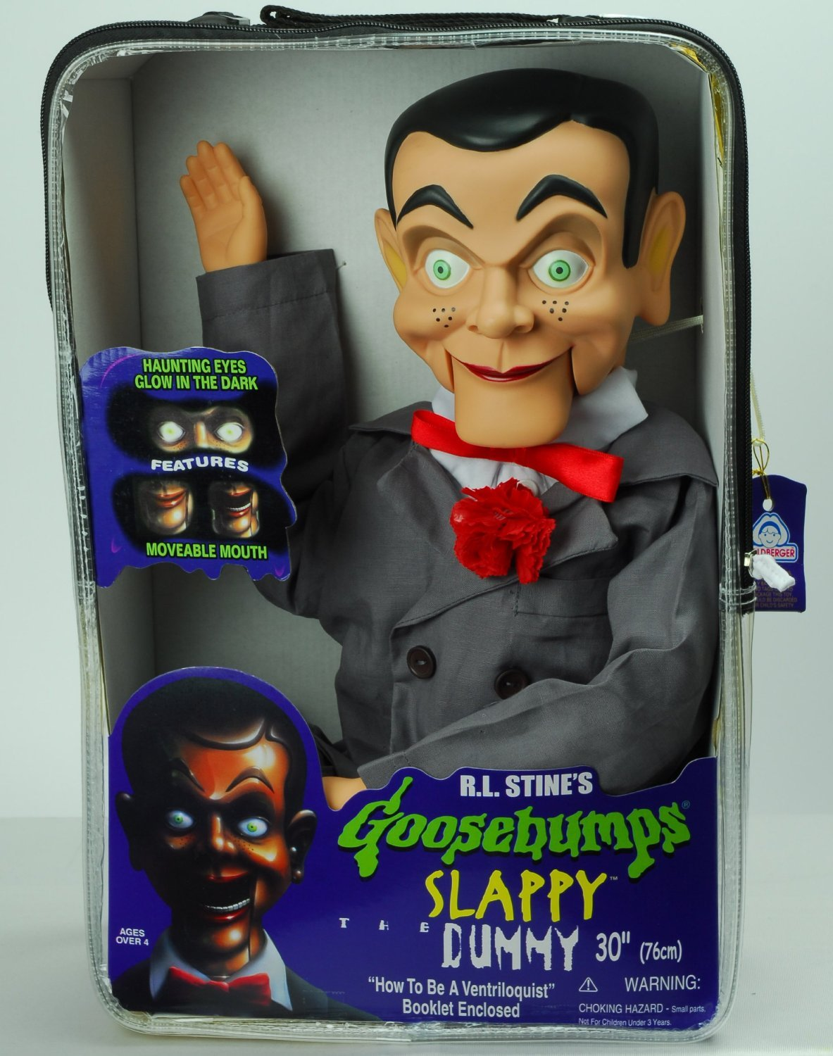 Amazon slappy dummy ventriloquist doll star of goosebumps amazon slappy dummy ventriloquist doll star of goosebumps famous ventriloquist dummy has glow in the dark eyes bonus e book how to be a ccuart Image collections
