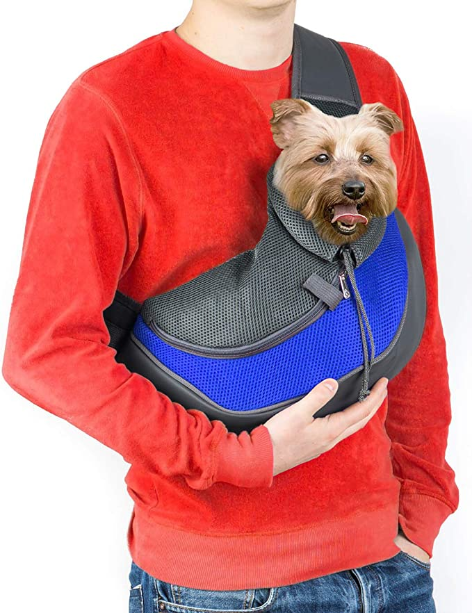 Cuddlissimo! Pet Sling Carrier - Compact Dog Sling Carrier