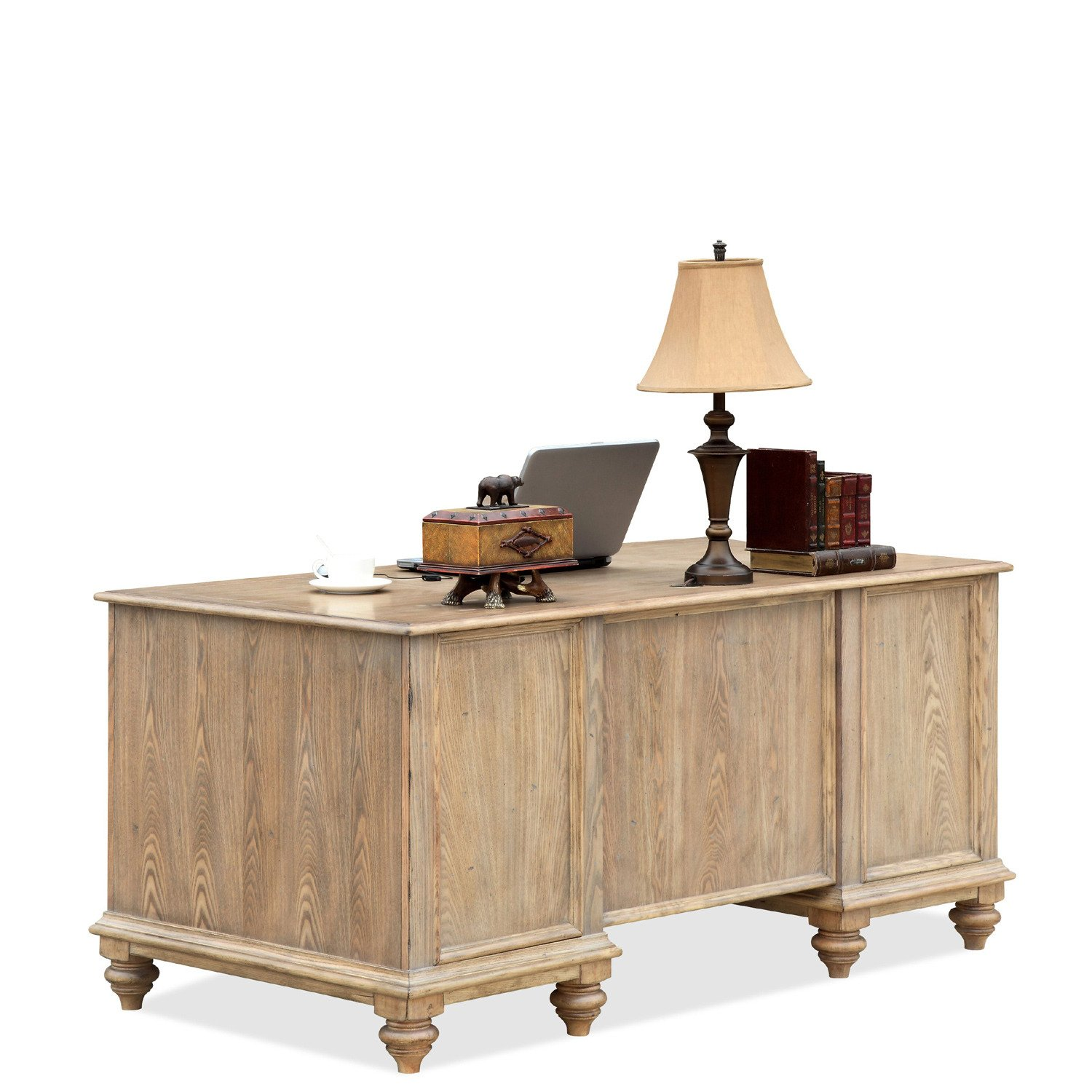 amaazing riverside home office executive desk. Amazon.com: Riverside Furniture Coventry Two Tone Executive Desk W Drawers: Kitchen \u0026 Dining Amaazing Home Office