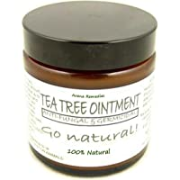 100% Natural Healing Tea Tree Ointment: for nail infections, athletes foot, bad odours and more 60ml