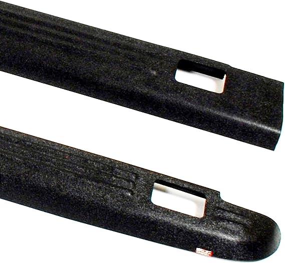 Wade 72-01114 Black Ribbed Bed Caps w//Holes for 07-13 Chevrolet Silverado 1500